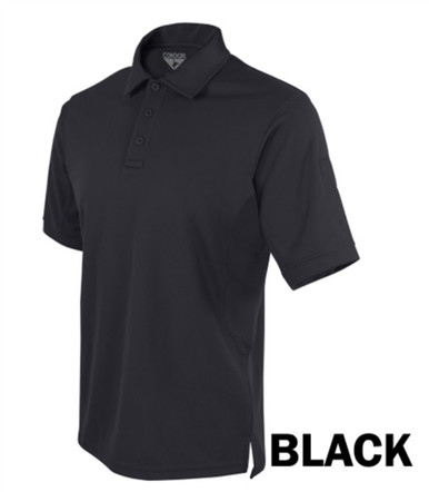 b3f7448e07ca0 Condor 101060 Performance Tactical Polo Shirt w/Moisture Wicking Knitted
