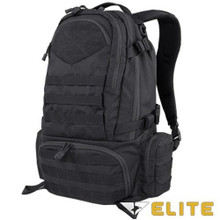 Condor 111073 Tactical Elite Titan Assault Hiking Travel Combat Backpack- Black/ Brown/ Slate