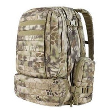 Condor 125-016 3 Day Assault Patrol Pack Hiking Backpack - Kryptek Highlander