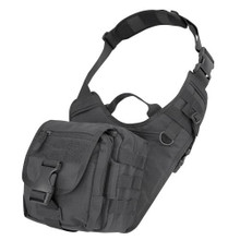 Condor 156 Tactical Molle EDC EveryDay Carry Military Shoulder Bag - OD Green/ Black/  Coyote  Brown