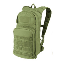 Condor 165 Molle Tactical PALS Fuel Hydration with Pack 2.5L Water & Bladder Carrier- OD Green/ Black/ Slate/ Coyote Brown