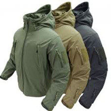 Condor 602 Summit Soft Shell Breathable Waterproof Army Combat Jacket- OD Green/ Black/ Tan/ Navy Blue/ Graphite