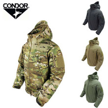 Condor 602-008 Summit Soft Shell Breathable Waterproof Army Combat Jacket- Multicam
