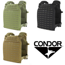 Condor 201068 LCS Sentry Plate Carrier Vest- OD Green/ Black/ Coyote Brown
