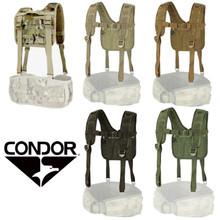 Condor 215 Tactical H-Harness for Battle Belt and Riggers Belt