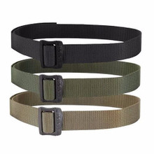 "Condor 240 Uniform Mon-Metallic Buckle 1.5"" BDU Tactical Belt- OD Green/ Black/ Tan"