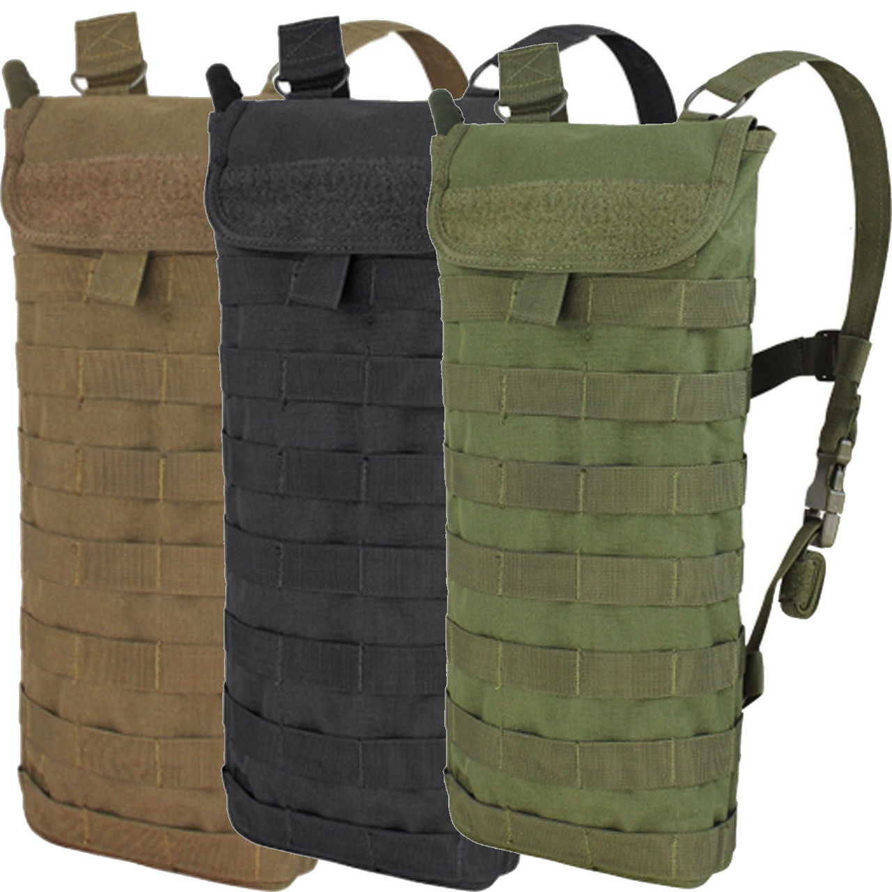 Molle Oasis Hydration Backpack Water Carrier with 2.5 L Bladder OD GREEN