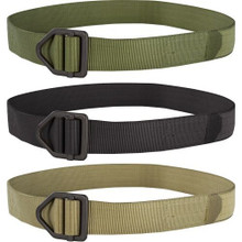 Condor IB Tactical Utility Instructor Heavy Duty Belt- OD Green/ Black/ Tan