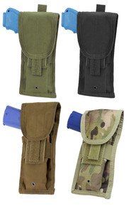 Condor MA10 MOLLE Tactical Pistol Pouch Holster- OD Green/ Black/ Coyote Brown/ MultiCam
