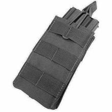 Condor MA18 Open Top Single Mag Pouch 5.56mm .223cal Rifle Magazine- OD Green/ Black/ Tan