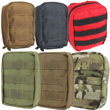 Condor MA21 Molle Tactical EMT Medic First Aid Pouch- OD Green/ Black/ Tan/ Red/ Coyote Brown