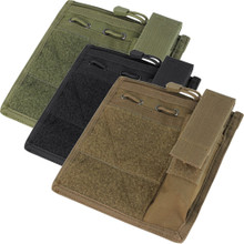 Condor MA30 Admin Tactical MOLLE PALS Chart ID Flashlight Pouch- OD Green/ Black/ Coyote Brown