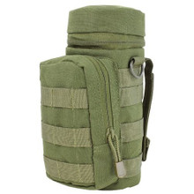 Condor MA40 H2O Pouch MOLLE Padded Water Bottle Carrier Utility Pocket- OD Green/ Black/ Tan