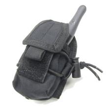 Condor MA56 HHR MOLLE Law Enforcement Handheld Radio Pouch- OD Green/ Black/ Tan