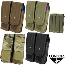 Condor MA6 MOLLE 7.62 mm / 5.62 mm Double Rifle Magazine Pouch- OD Green/ Black/ Tan/ Coyote Brown/ MultiCam