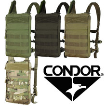Condor 111030 Tidepool Hydration Carrier MOLLE w/Straps & 1.5L Bladder- OD Green/ Black/ MultiCam/ Coyote Brown