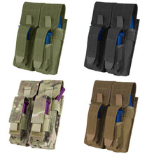 Condor MA71 MOLLE 7.62 mm / 5.62 mm Double Kangaroo Magazine Pouch- OD Green/ Black/ Coyote Brown/ MultiCam