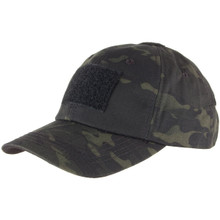Condor TC-021 Tactical Cap Operator Shooter SWAT Military Hat - MultiCam Black