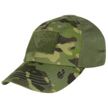 Condor TCM-020 Mesh Tactical Cap Operator Contractor Shooter Hat MultiCam Tropic