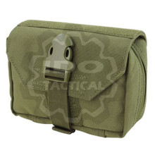 Condor 191028 EMT Molle Tactical First Response Pouch- OD Green/ Black/ Coyote Brown