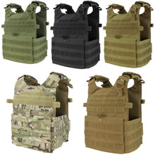 Condor 201039 Tactical MOLLE Gunner Lightweight Plate Carrier Vest- OD Green/ Black/ Tan/ MultiCam/ Coyote Brown