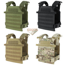 Condor 201042 Sentry MOLLE Lightweight Plate Carrier Quick Adjust- OD Green/ Black/ Tan/ Coyote Brown