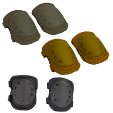 Condor KP2 Knee Pads Tactical Combat Easy Buckle On Straps Protection Pads- OD Green/ Black/ Coyote Brown