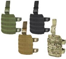 Condor MA1 MOLLE Tactical Drop Leg Platform- OD Green/ Black/ MultiCam/ Coyote Brown
