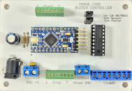 Morse Code Buzzer Board Rev 3 with Arduino Pro-Mini compatible processor