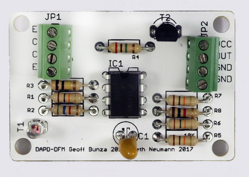 Enhanced Optical Position Detector - Screw Terminal, reference detector on board