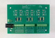 Train Order Board Controller component side, Assembled and Tested