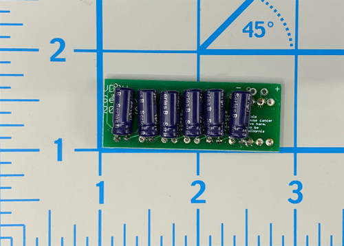 Assembled Voltage Divider Storage Unit, Super Capacitor side.  Note sold as a kit!  Assembly required.