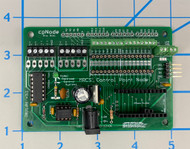 cpNode ProMini without Processor, equipped with screw terminals