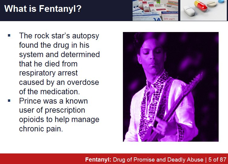 DOT Reasonable Suspicion Training PowerPoint PPT Adds Fentanyl