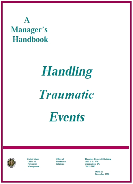 Supervisor Training and Guidebook for Crisis and Tragedy