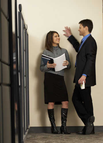 Romance in the workplace, think twice before the plunge
