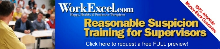 Purchase or Preview Reasonable Suspicion Training Program with Handouts for Supervisors