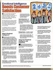 E093 Emotional Intelligence Boosts Customer Satisfaction