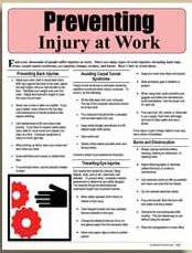 E098 Preventing Injury at Work
