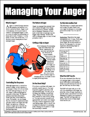 Image for Managing Your Anger