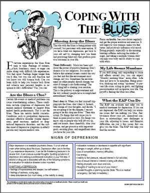 Image for Coping with the Blues
