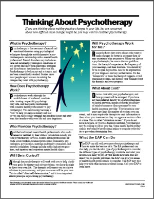 Image for Psychotherapy