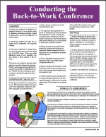 Image for Back to Work Conference Guidelines