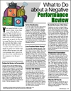 Image for What to Do about a Negative Performance Review