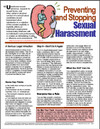 Image for Preventing and Stopping Sexual Harassment