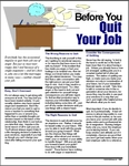 Image for Before You Quit Your Job