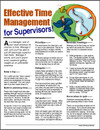 Image for Effective Time Management for Supervisors