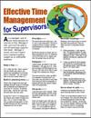 Image for Effective Time Management for Supervisors