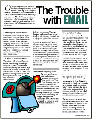 The+Trouble+with+EMAIL