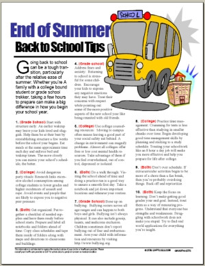 End+of+Summer+Back+to+School+Tips